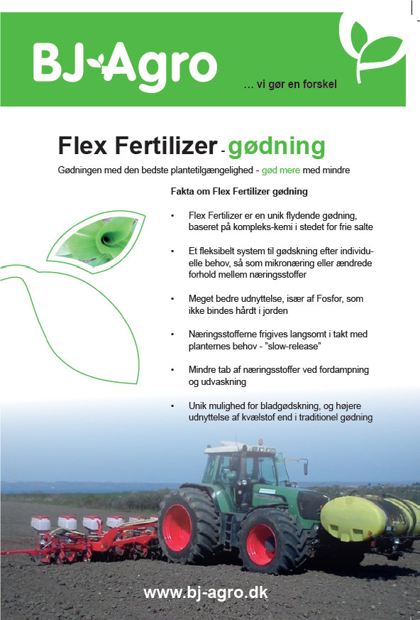Brochure Flex Fertilizer